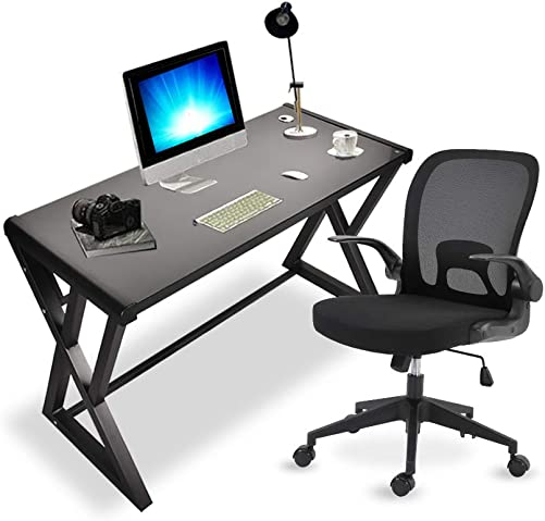 Tangkula L-Shaped Corner Computer Desk, Home Office Desk PC Laptop Study Table with CPU Stand Spacious Surface, Computer Workstation with Adjustable Foot Pads Coffee