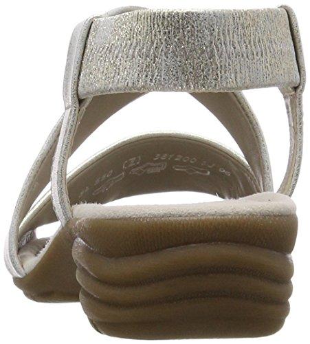 Sandali Beige con Cinturino Casual alla Caviglia Nude Gabor Donna 5qw0xE5