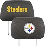 FANMATS NFL Unisex-Adult Auto Headrest Covers