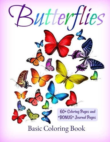 Butterflies: Coloring Book (Coloring Books for Young Colorist's) (Volume (Butterfly Coloring Pages)