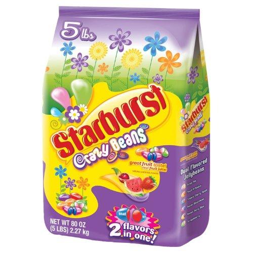Starburst Crazy Beans 5lbs Bag (Starburst Beans Jelly)