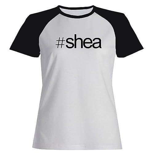 Idakoos Hashtag Shea - Cognomi - Maglietta Raglan Donna