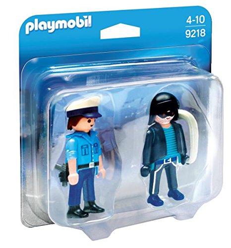 2 opinioni per Playmobil 9218- Coppia di Personaggi: Poliziotto e Ladro