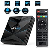 Android TV Box HK1 Play Amlogic S905X2 2G+16G 4G+32G 4+64G WiFi Smart TV Box Support 4K 3D H.265 Android Set-Top Box