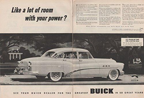 1953 BUICK ROADMASTER RIVIERA 4-Door SEDAN