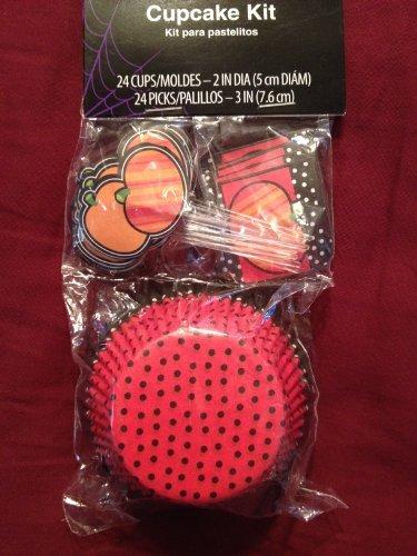 Halloween cupcake kit (24 cups)