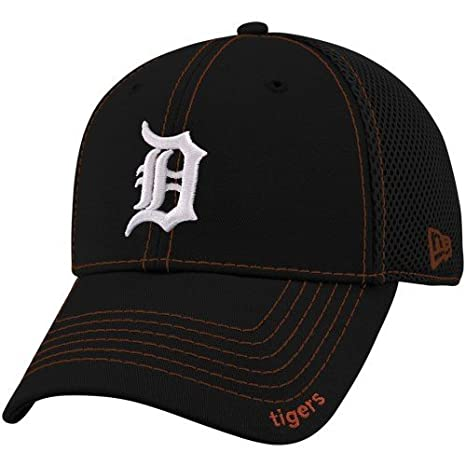 3ffbde07 Detroit Tigers Navy 39THIRTY Neo Stretch Fit Hat