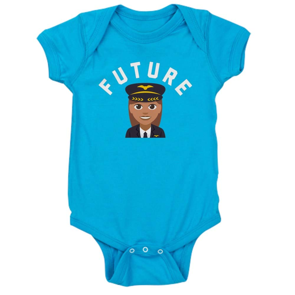 CafePress Cute Infant Bodysuit Baby Romper Future Pilot