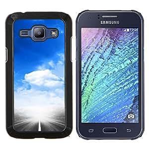 Stuss Case / Funda Carcasa protectora - Cielo cielo Dio religiosi Sky e Nuvole - Samsung Galaxy J1 J100