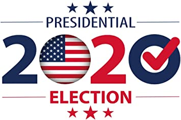 Amazon Com Haoyiyi 10x6 5ft New Years Backdrop 2020 United States Of America Presidential Election Vote Patriotic Stars Banner Background Photography Photo Party Events Banner Decor Portrait Decoration Camera Photo