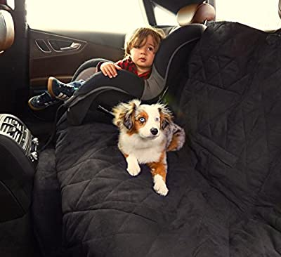 """Bella Car Comforter - Pet Car Bench Seat Cover - 54"""" X 57"""" - Water Resistant, Machine Washable"""