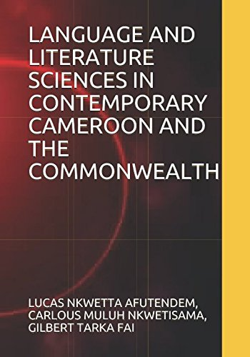 Download LANGUAGE AND LITERATURE SCIENCES IN CONTEMPORARY CAMEROON AND THE COMMONWEALTH ebook