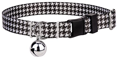 (Country Brook Petz | Houndstooth Cat Collar)