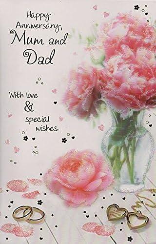 Joyeux Anniversaire Maman Et Papa Amazonfr Fournitures