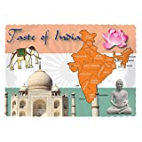 Royal India Design Placemats, 9.5'' x 13.5'', Case of 1000
