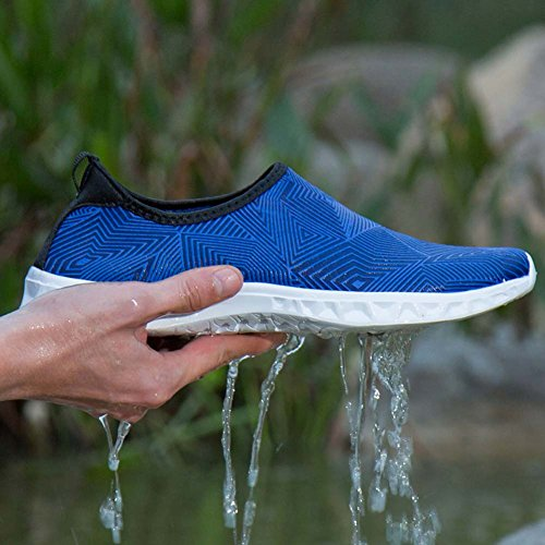 Shoes Yoga Swim Snorkeling For Water Aqua Rubber Water Beach Men Neoprene Running and Skin Blue Shoes Barefoot Sole Women Mengxx Swimming Shoes FBqCwP