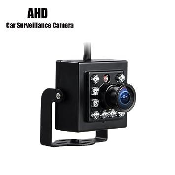 GISION AHD Mini cámara de vehículo, 1/3 CCD Sony CCTV Car Vans de