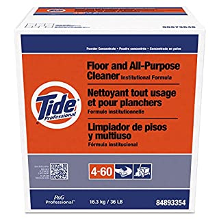 Floor and All-Purpose Cleaner from Tide Professional, Bulk Multi-Surface Powder for Floors and Walls, Commercial Use, Phosphate Free, 36 lb. Box