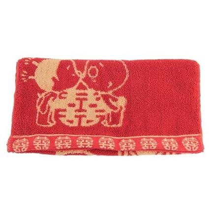 Amazon.com: Toalla de baño – Nhbr rojo chino tradicional de ...
