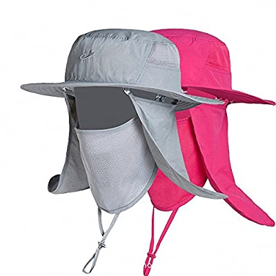 Maoko Outdoor Sun Protection Hats For Women and Men (Available In 5 Different Colors)