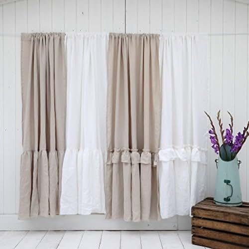 Linen Curtains Amazon Com: Amazon.com: Linen Curtain Panels, Farmhouse Curtain