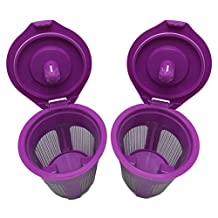 New Replacement Reusable Coffee Filter for Keurig My K-cup 2.0, K200, K300, K400, K500 Series and All 1.0 Brewers (2) by Boutiquemall