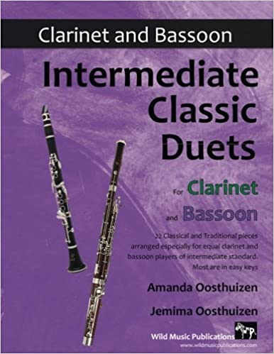 Amazon com: Intermediate Classic Duets for Clarinet and