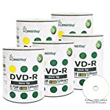 Smart Buy 500 Pack DVD-R 4.7gb 16x White Top Blank Data Video Movie Record Disc, 500 Disc 500pk