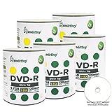 Smartbuy 500-disc 4.7gb/120min 16x DVD-R White Top Blank Data Recordable Media Disc