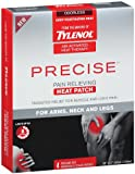 Tylenol Precise Pain Relieving Heat Patch - Arms  Neck  And Legs  4-count (Pack of 2)