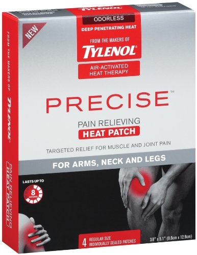 tylenol-precise-pain-relieving-heat-patch-arms-neck-and-legs-4-count-pack-of-2