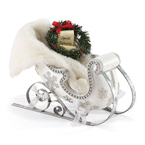 Department 56 Possible Dreams Santa's White Sleigh Accessory, ()