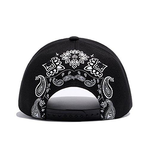 Hombres Hip Snapback Bordado Hop Llxln Sombreros Mujeres Cruz Negra Gorra para Gorra Casqutte Personalidad Hueso Gorras Rqnfvw7g