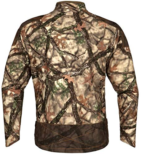 ec75ae602e53f Amazon.com : ScentLok Men's Full Season TAKTIX Hunting Jacket (Lost Camo  XD, X-Large) : Sports & Outdoors