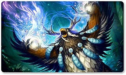 Warcraft58 – Juego de mesa de Warcraft tapete de mesa Wow juegos teclado Pad Tamaño 60 x 35 cm World of Warcraft Mousepad para Yugioh Pokemon MTG o TCG: Amazon.es: Oficina y papelería