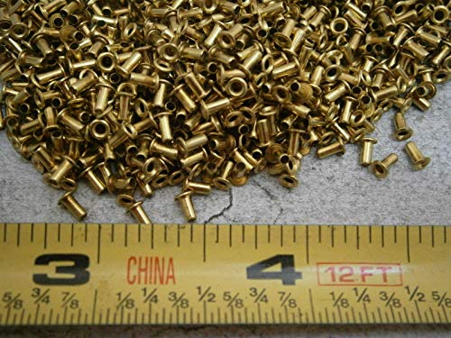 SE-24 Eyelet .059'' Barrel OD x .125'' Brass LOT of - 100#5998 - Quality Assurance from JumpingBolt