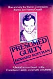 Presumed Guilty, Howard Roffman, 0498019330