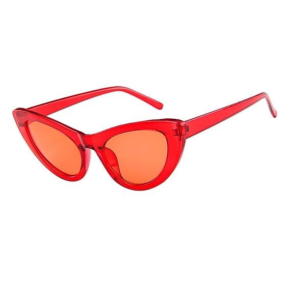 Amazon.com: ZOMUSAR Gafas de sol, Las Mujeres Colorido ...