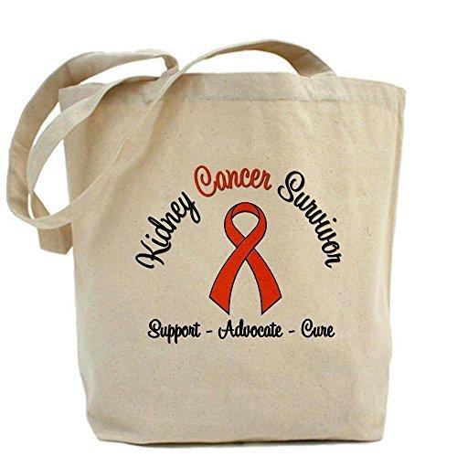 CafePress diseño único cáncer de riñón bolsa de tela, Survivor–estándar... por CafePress
