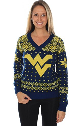 Tipsy Elves Women's West Virginia University Sweater:, used for sale  Delivered anywhere in Canada