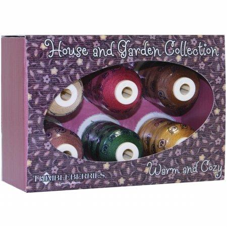 (Thimbleberries Cotton Thread Collection 500yd 6/Pkg-Home & Garden Warm & Cozy)
