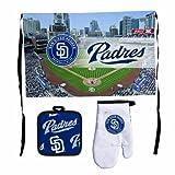 MLB San Diego Padres Premium Barbeque Tailgate Set