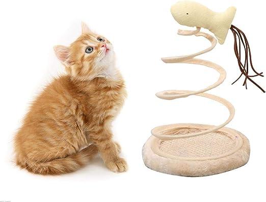 MOGOI Juguete Interactivo para Gato, Juguete Divertido en Espiral ...