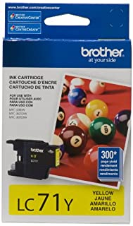 Brother LC71YS Genuine Yellow Ink Cartridge (B005I95IQE) | Amazon Products