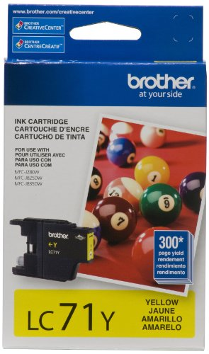 Brother Innobella Lc71y Standard Cartridge