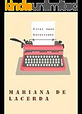 Dicas para Escritores