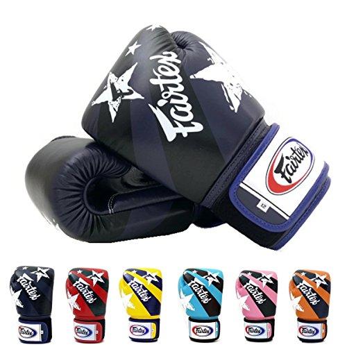 Blu Thai De Gants Frappe D'entraînement Fairtex Boxe Style Kickboxing Sac Muay Z6HdHvqwI
