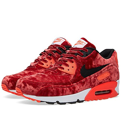 Nike Air Max 90 'Red Velvet' - Gym Red/Black-Infrrd-Mtllc Gld Trainer rojo