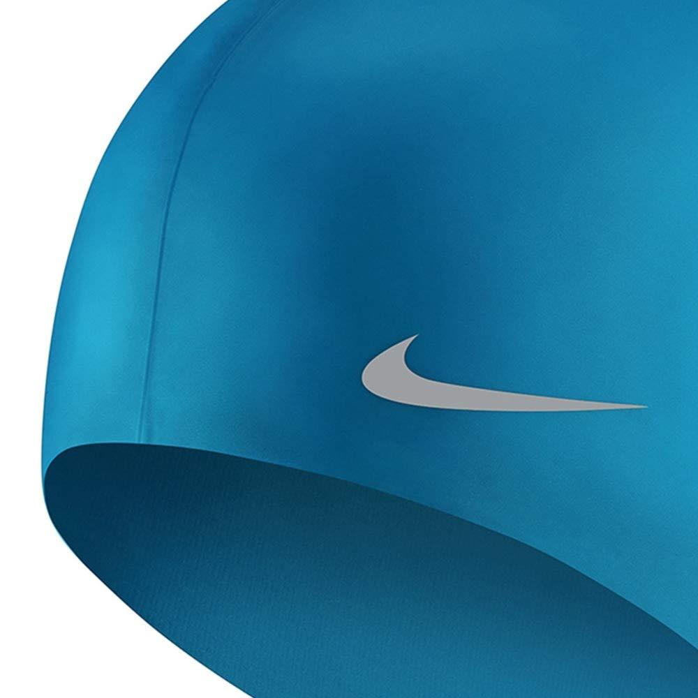 Amazon.com : Nike Kids Swim Cap, Boys or Girls Solid Silicone Swim Cap : Sports & Outdoors