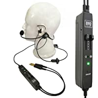 UFQ ANR L2 Hi-Lite in Ear Aviation Headset-Compare to XXXX Proxxxxxt BUT Super Light only 175g Clear Communication Great Sound Quality for Music with MP3 Input